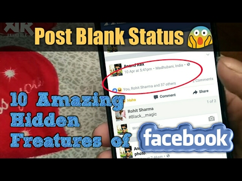 10 Amazing Hidden Facebook Features that You Should Must Know - 2017