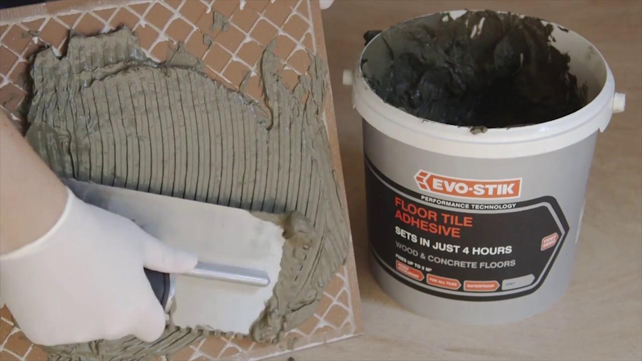 Tile Bostik Rapid Set Flex Adhesive Grey Tbosrapad02 20 Youtube