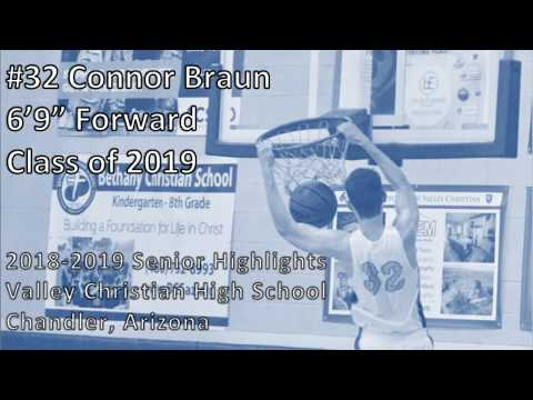 "Connor Braun 6'9"""