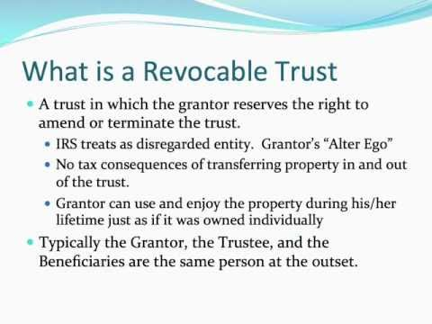 Image result for How to create a revocable trust?