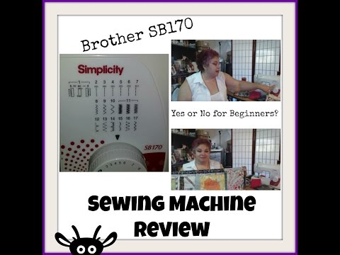 Review: Brother SB170 Sewing Machine