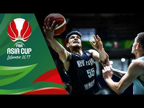HIGHLIGHTS: New Zealand vs. Kazakhstan (VIDEO) FIBA Asia Cup 2017 | August 8