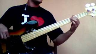 Queen Keep passing the open windows Bass Cover