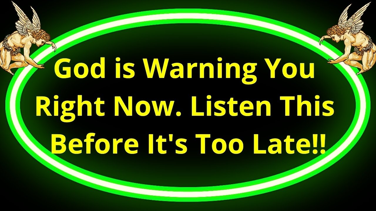 Download God is Warning You Right Now👉Listen This Before It's Too Late🙌💖