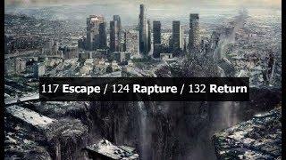 117 Escape / 124 Rapture / 132 Return