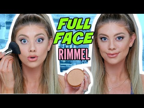 FULL FACE ONE BRAND TUTORIAL | RIMMEL