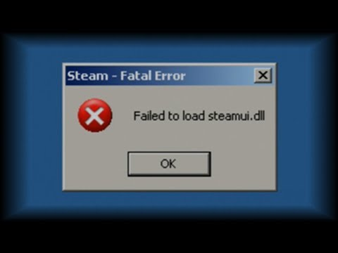 How To Fix Steamui.dll Error On Windows XP And Vista
