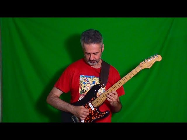 BB KING - PLEASE LOVE ME solo cover by MARCELLO ZAPPATORE