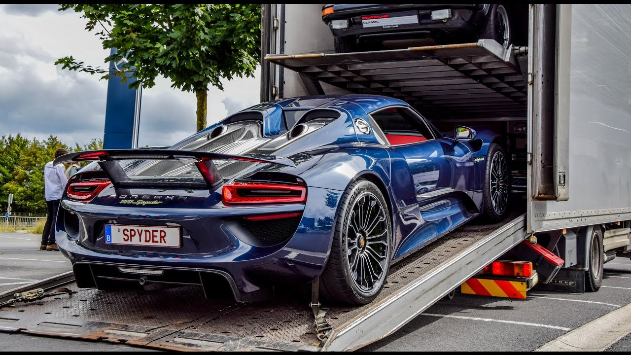Porsche 918 Spyder Electric