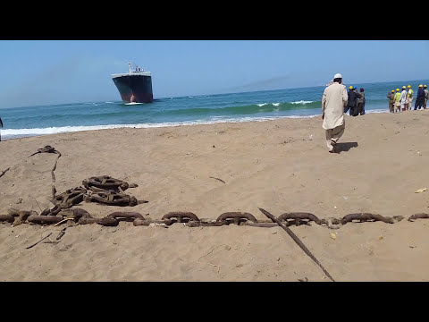 Mv Carat Is Beached In Gadani