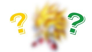Drawing Super Sonic 3 / Super Saiyan 3 Sonic!