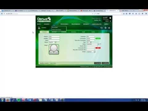 Crear Arbol IVR Denwa PBX con Consulta Saldos y BD Informix linux IDS 12.10