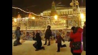 Световое шоу. Москва. Зима. Январь 2016 г. (архив 17.01.2016 г.)