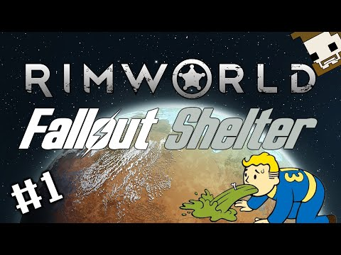 Rimworld: Fallout Shelter - Part 1 - First Day Ancient Danger