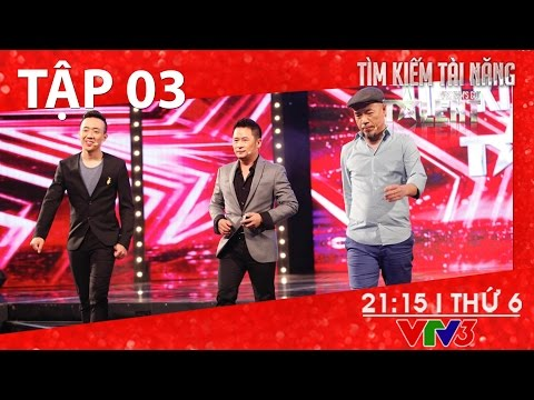 [FULL HD] Vietnam's Got Talent 2016 – TẬP 03 (15/01/2016)