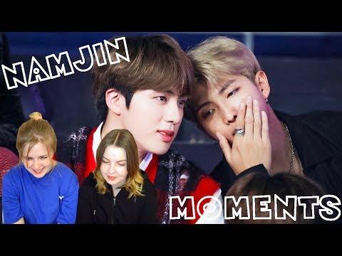 BTS NAMJIN [RM & JIN] (BTS REACTION)