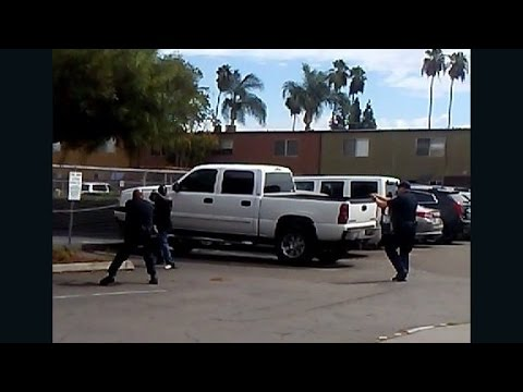 Video shows aftermath of California shooting