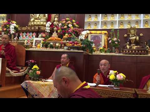 Tsok lu offering for H.E Garchen Rinpoche by Lama Dorjee