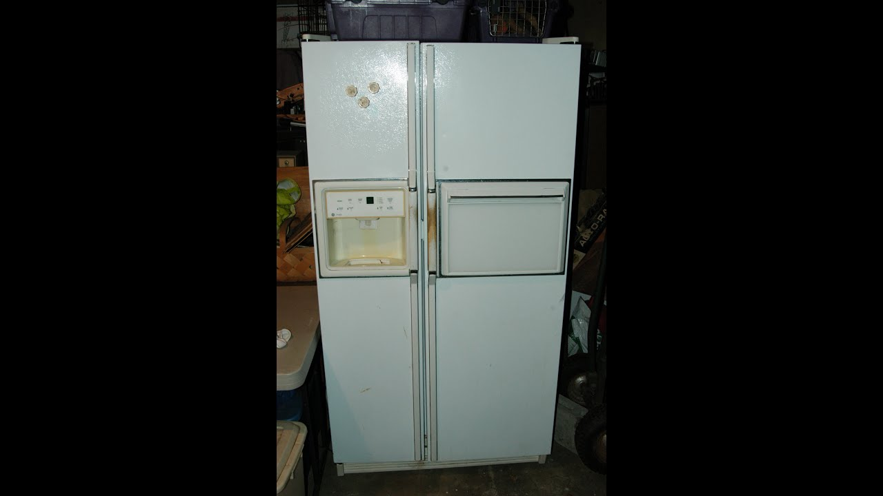 general electric refrigerator ge refrigerator defrost troubleshooting and heater repair 29224