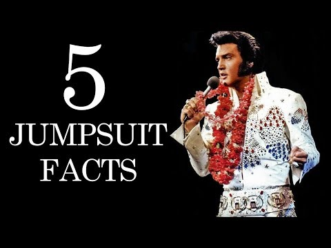 5 Surprising Facts About Elvis' Jumpsuits
