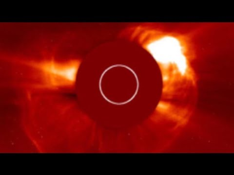 SOLAR ACTIVITY UPDATE: Massive Explosion Farside Of The Sun: July 23rd, 2017.