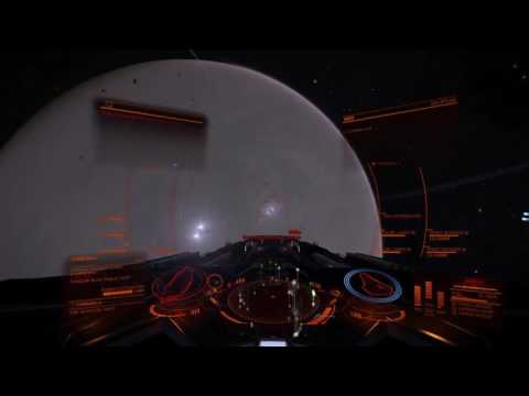 One hour of high-intensity CZ farming in a Corvette - Only 900 MJ of shield, and no SCBs used