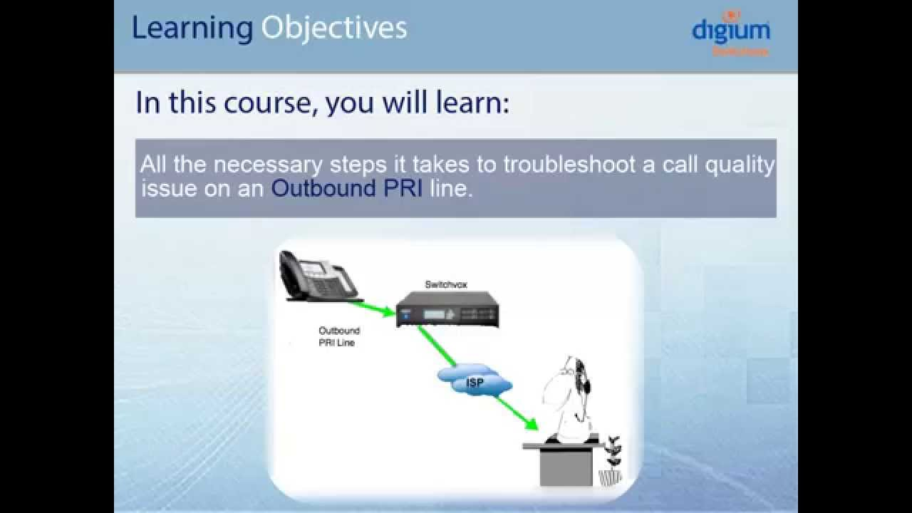 Call Quality: Troubleshooting Audio Issue over Outbound PRI Line