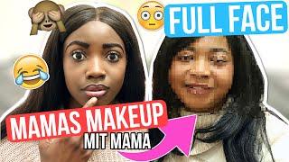 GANZES MAKEUP Mit Produkten MEINER MUTTER? MIT meiner MAMA 😂 full face using my moms makeup