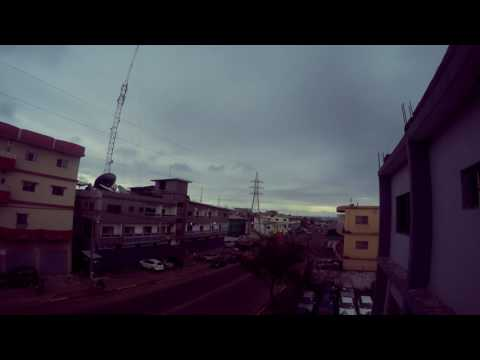 LIBERIA: Evening in Liberia Time lapse