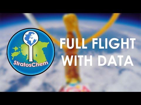 [HD] StratosChem - FIRST Elephant Toothpaste in Stratosphere [Full Flight]