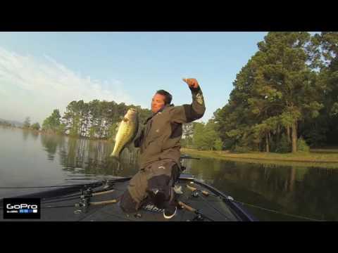 Toledo Bend 2014: GoPro: Chris Zaldain Toledo Bend  8-pounder