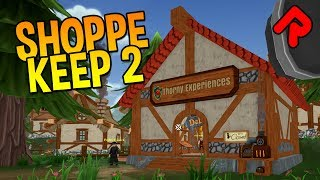SHOPPE KEEP 2 gameplay: PROFIT HUNTER! (PC alpha preview)