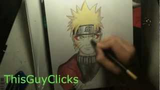 How to Draw Naruto: Sage Mode Part 2 Coloring