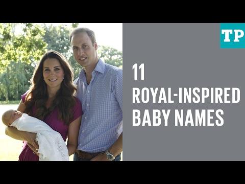 11 royal-inspired baby names
