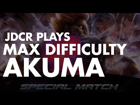 JDCR vs super max difficulty Akuma - Story Mode