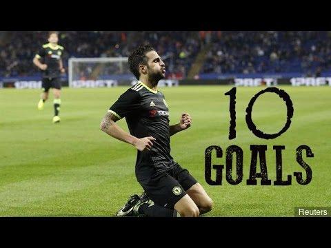 08e472fe04 Cesc Fabregas - First 10 Goals For Chelsea FC - All Goals For Chelsea FC -  HD