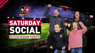 🙌 The Saturday Social: 2019/20 Season Tickets  | Exeter City Football Club