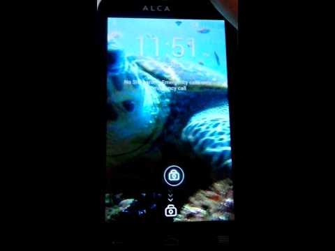 Alcatel One Touch Magic 4033x Video Wallpaper