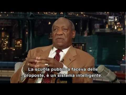Bill Cosby al David Letterman Show