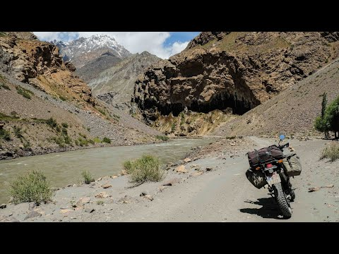 Tadschikistan 2019 Solo Motorradabenteuer Teil1 (English subs available)