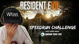 RECORDED LIVE - Speedrun mencari senjata BAD ENDING - RESIDENT EVIL 7 BIOHAZARD #Indonesia