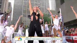 Lady Gaga - Teeth (Live Today Show) HD