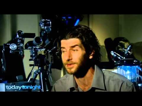 'UFO Hunter' Damien Nott on Today Tonight TV, Adelaide, Australia