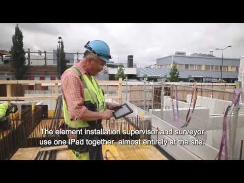 Building Information Models And Mobile Devices On Site - English Subtitles