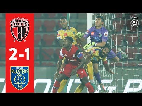 Hero ISL 2018-19 | NorthEast United FC 2-1 Kerala Blasters FC | Highlights