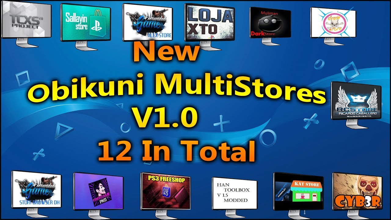 New Obikuni MultiStores V1 0 12 In Total Made from Latest Han ToolBox 0 7 1
