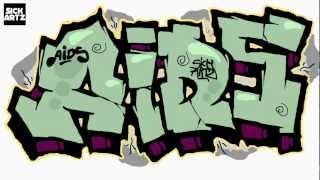 How to Draw Graffiti Aids