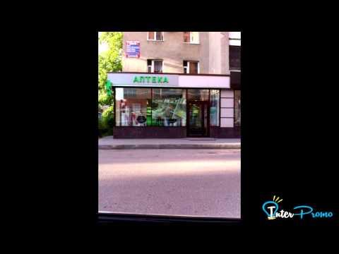 Проекционная витрина для Аптеки Воронеж