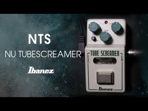 Ibanez Nu Tubescreamer Overdrive Pedal with Nutube   Sweetwater
