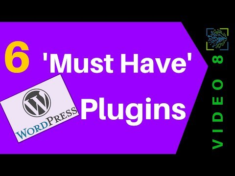 How To Easily Install 6 'Must Have' WordPress Plugins | V8